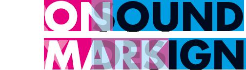 ON SOUND DESIGN MARK logo