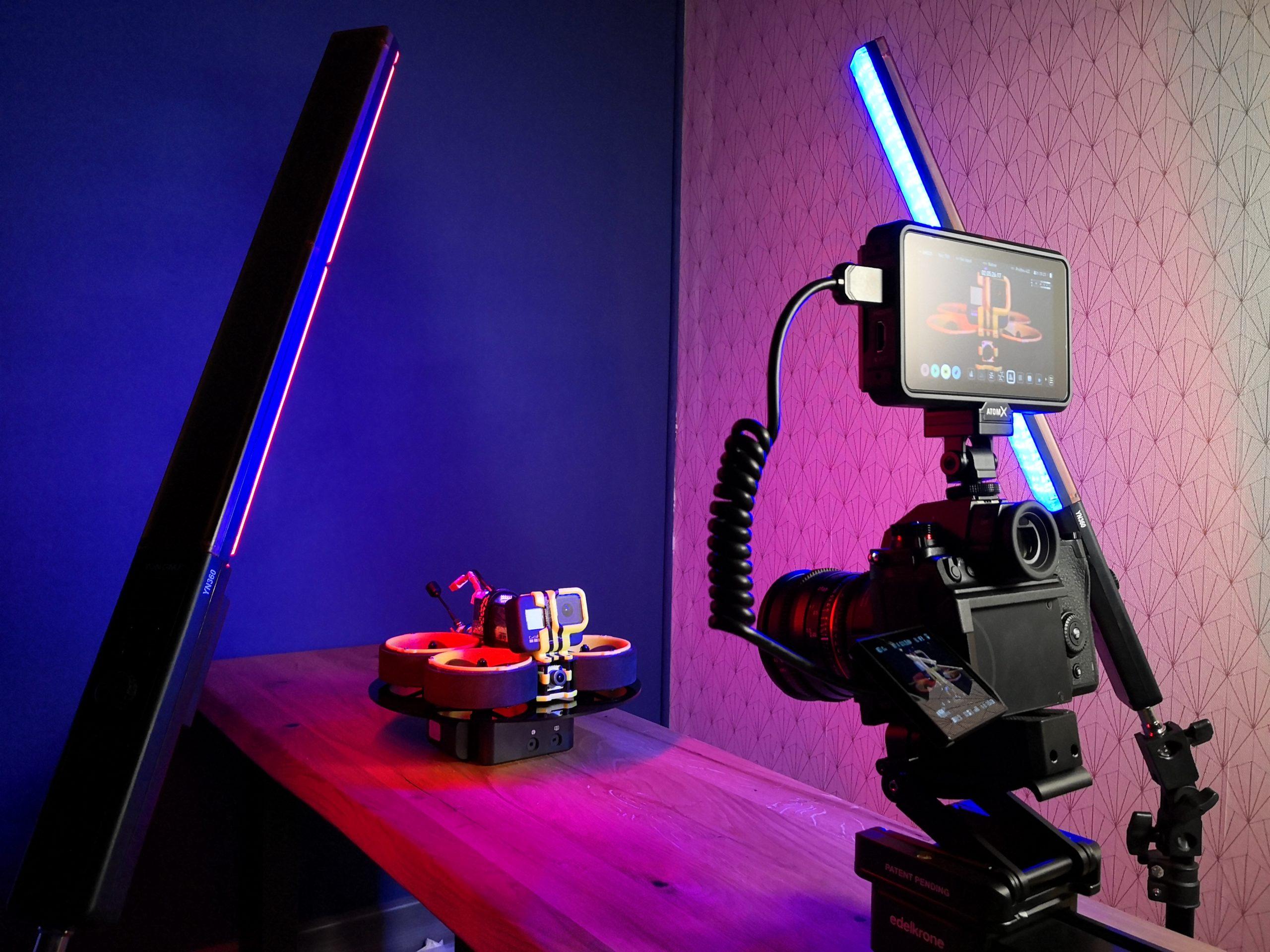 Slider et LEDs
