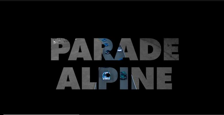 Parade Alpine circuit de Folembray
